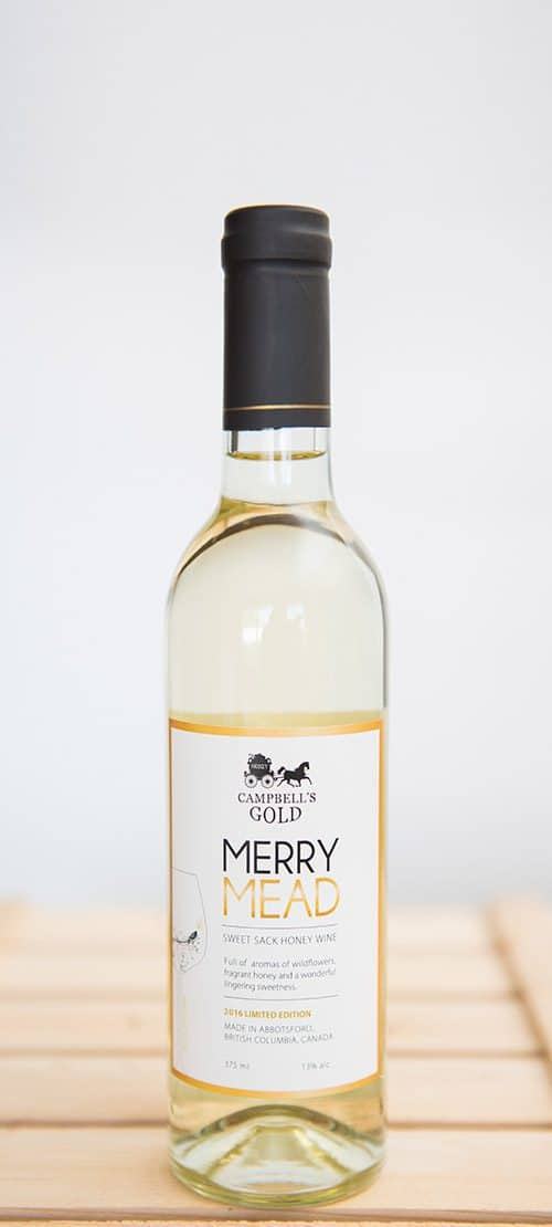Merry Mead 375 ml - Campbell's Gold