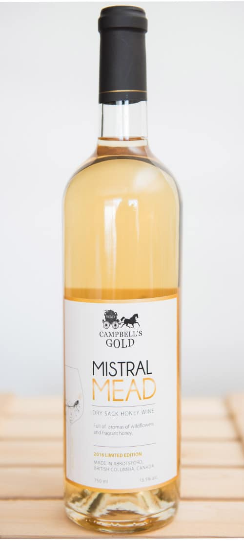 Mistral Mead 750ml - Campbell's Gold