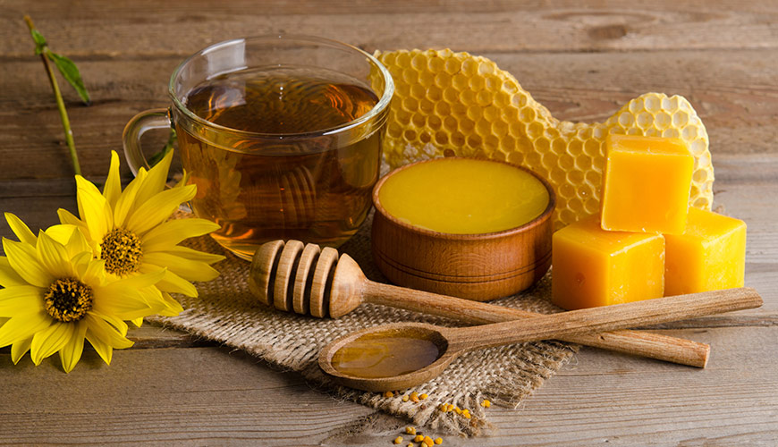 Campbell's Gold Beehive Products