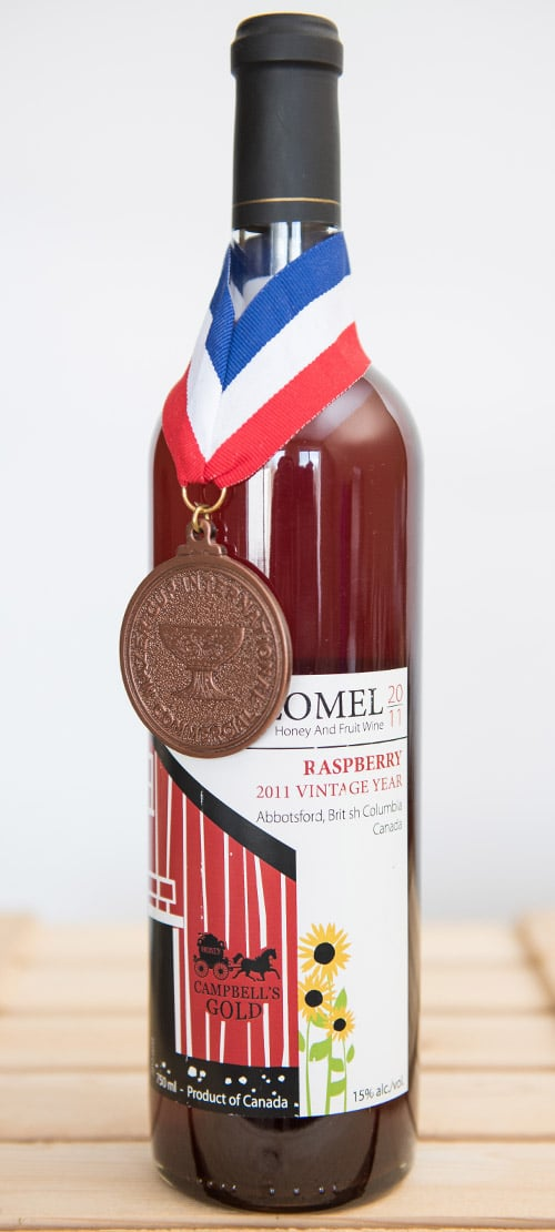 Melomel Raspberry 750 ml - Campbell's Gold
