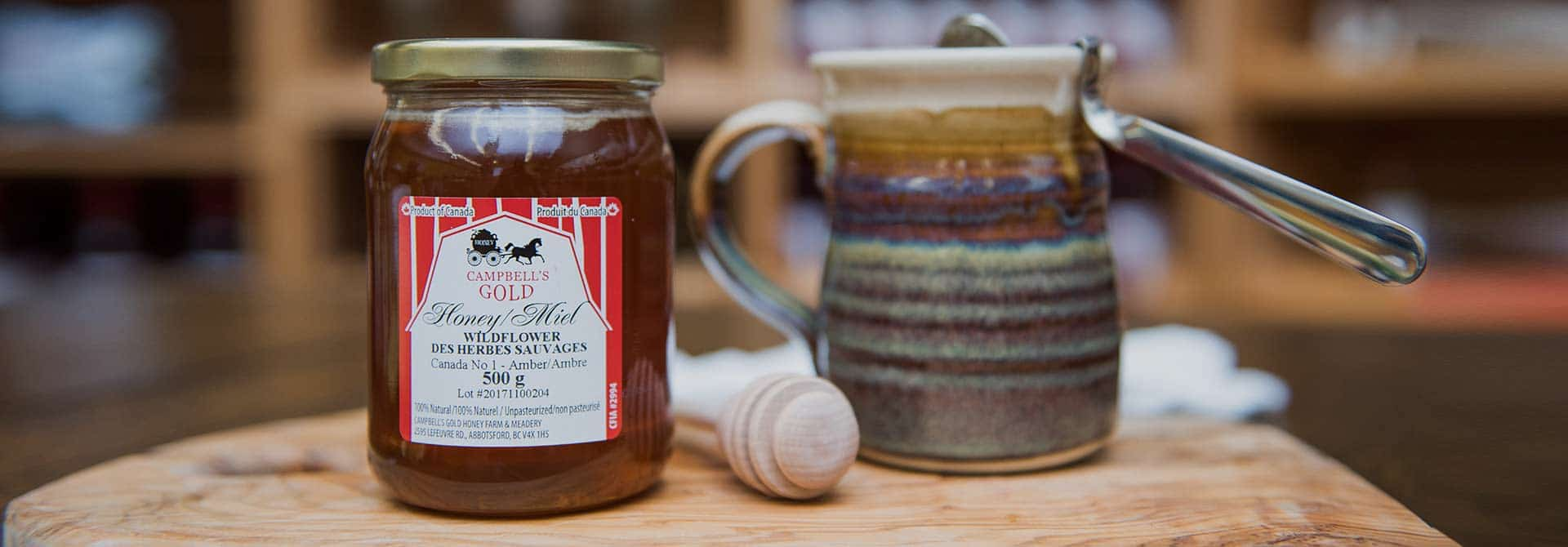 Wildflower Honey - Campbell's Gold